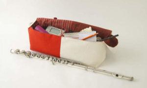 復興支援フルートバッグ「じゃぱねすく」-参考画像2